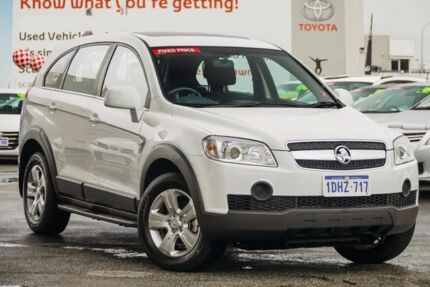 2010 Holden Captiva CG MY10 SX (FWD) White 5 Speed Automatic Wagon Glendalough Stirling Area Preview