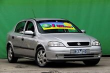 2001 Holden Astra TS CD Silver 4 Speed Automatic Hatchback Ringwood East Maroondah Area Preview
