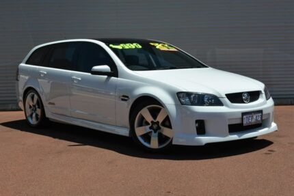 2009 Holden Commodore VE MY10 SS V Sportwagon White 6 Speed Sports Automatic Wagon Gosnells Gosnells Area Preview