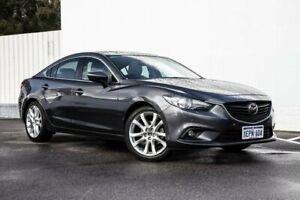 2014 Mazda 6 GJ1031 Atenza SKYACTIV-Drive Grey 6 Speed Sports Automatic Sedan
