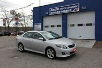 2009 Toyota Corolla XRS Sedan 2.4L WINTER TIRES INCLUDED
