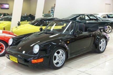 1982 Porsche 911 SC Black 5 Speed Manual Cabriolet