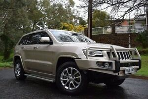 2013 Jeep Grand Cherokee WK MY2014 Overland Gold 8 Speed Sports Automatic Wagon St Marys Mitcham Area Preview