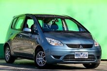 2008 Mitsubishi Colt RG MY08 ES Silver 1 Speed Constant Variable Hatchback Ringwood East Maroondah Area Preview