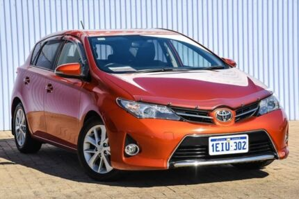 2013 Toyota Corolla ZRE182R Ascent Sport S-CVT Orange 7 Speed Constant Variable Hatchback Morley Bayswater Area Preview