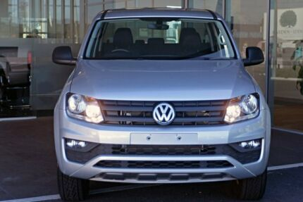 2016 Volkswagen Amarok 2H MY17 TDI420 4MOTION Perm Core Silver 8 Speed Automatic Utility Tweed Heads South Tweed Heads Area Preview