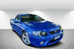 2006 Ford Falcon BF XR8 Magnet Blue 6 Speed Auto Seq Sportshift Utility Golden Square Bendigo City Preview