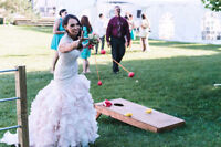 Rental Lawn games, Weddings, Backyard BBQs Stag and does ect.