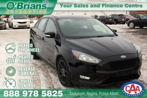 2016 Ford Focus SE w/Heated Seats and Steering wheel