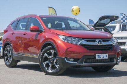 2018 Honda CR-V RW MY18 VTi-L FWD Red 1 Speed Constant Variable Wagon Pearce Woden Valley Preview