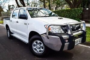 2008 Toyota Hilux KUN26R MY08 SR White 5 Speed Manual Utility Medindie Walkerville Area Preview