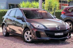 2012 Mazda 3 BL 11 Upgrade Neo Graphite 5 Speed Automatic Hatchback Wyoming Gosford Area Preview