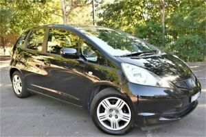 2011 Honda Jazz GE MY11 VTi Crystal Black 5 Speed Automatic Hatchback Five Dock Canada Bay Area Preview