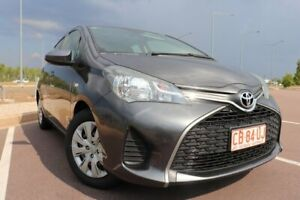 2015 Toyota Yaris NCP130R Ascent Graphite 4 Speed Automatic Hatchback Driver Palmerston Area Preview