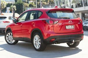 2012 Mazda CX-5 KE1021 Grand Touring SKYACTIV-Drive AWD Red/Black 6 Speed Sports Automatic Wagon Brookvale Manly Area Preview