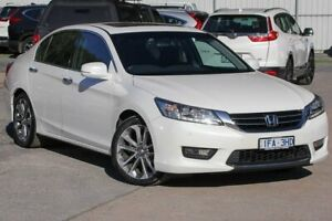 2015 Honda Accord 9th Gen MY15 V6L White 6 Speed Sports Automatic Sedan Ferntree Gully Knox Area Preview