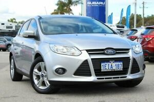 2013 Ford Focus LW MkII Trend PwrShift Silver 6 Speed Sports Automatic Dual Clutch Hatchback Greenfields Mandurah Area Preview