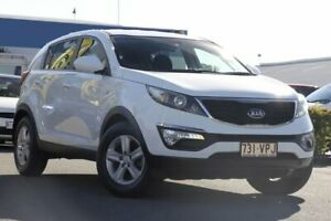 2014 Kia Sportage SL MY14 Si 2WD Clear White 6 Speed Sports Automatic Wagon Rocklea Brisbane South West Preview