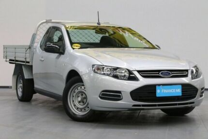 2012 Ford Falcon FG MkII Super Cab Silver 6 Speed Sports Automatic Cab Chassis