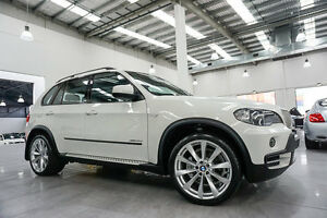 2010 BMW X5 E70 MY10 xDrive 35D Alpine White 6 Speed Steptronic Wagon Port Melbourne Port Phillip Preview