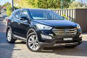 2014 Hyundai Santa Fe DM MY14 Highlander Black 6 Speed Sports Automatic Wagon Greenacre Bankstown Area Preview