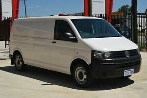 2014 Volkswagen Transporter T5 MY14 TDI400 LWB 4MOTION White 6 Speed Manual Van Kenwick Gosnells Area Preview