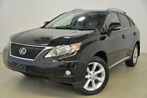 2011 Lexus RX350 GGL15R MY11 Sports Luxury Black 6 Speed Sports Automatic Wagon Mansfield Brisbane South East Preview