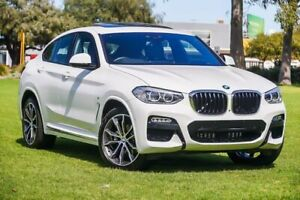 2019 BMW X4 G02 xDrive20i Coupe Steptronic M Sport White 8 Speed Automatic Wagon Burswood Victoria Park Area Preview