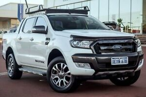 2016 Ford Ranger PX MkII Wildtrak Double Cab Cool White 6 Speed Sports Automatic Utility Wangara Wanneroo Area Preview