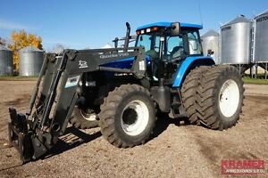 2005 New Holland TM190 MFWD tractor & ALO Quicke 790 FEL