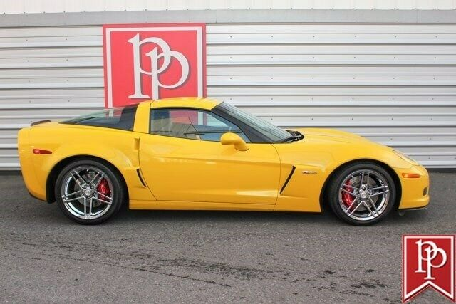 2006 Yellow Chevrolet Corvette Z06  | C6 Corvette Photo 10
