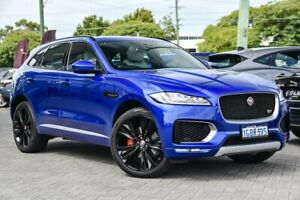 2016 Jaguar F-PACE X761 MY17 30d AWD First Edition Blue 8 Speed Sports Automatic Wagon Osborne Park Stirling Area Preview
