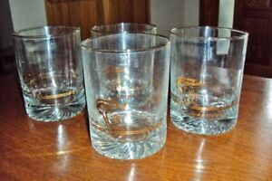 Set of 4 collectible Olympic Drinking Glasses