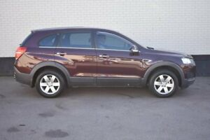 2014 Holden Captiva CG MY14 7 LS Maroon 6 Speed Sports Automatic Wagon Cardiff Lake Macquarie Area Preview
