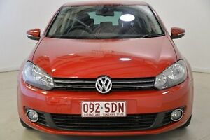 2011 Volkswagen Golf VI MY11 103TDI DSG Comfortline Red 6 Speed Sports Automatic Dual Clutch Mansfield Brisbane South East Preview