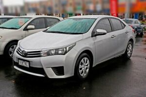 2015 Toyota Corolla ZRE172R Ascent Silver 6 Speed Manual Sedan Mill Park Whittlesea Area Preview