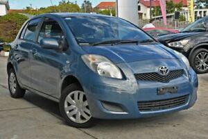 2010 Toyota Yaris NCP90R MY10 YR Blue 5 Speed Manual Hatchback Nundah Brisbane North East Preview