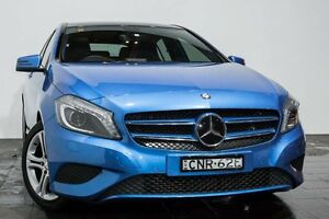 2013 Mercedes-Benz A180 W176 D-CT Blue 7 Speed Sports Automatic Dual Clutch Hatchback Rozelle Leichhardt Area Preview