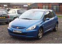 Peugeot 307 2.0 HDI (Cheap diesel with long MOT)