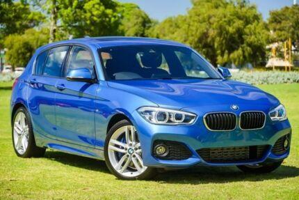 2017 BMW 125I F20 LCI M Sport Blue 8 Speed Sports Automatic Hatchback