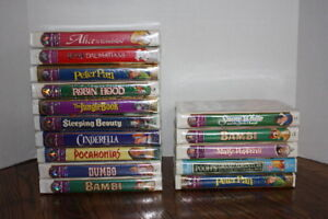 Disney VHS Movies - Various - Most Unopened