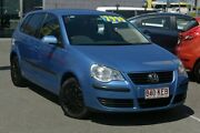 2007 Volkswagen Polo 9N MY2007 TDI Blue 5 Speed Manual Hatchback Southport Gold Coast City Preview