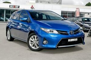 2013 Toyota Corolla ZRE182R Ascent Sport S-CVT Blue 7 Speed Constant Variable Hatchback