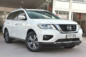 2019 Nissan Pathfinder R52 Series III MY19 ST-L X-tronic 2WD Ivory Pearl 1 Speed Constant Variable Blacktown Blacktown Area Preview