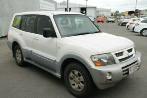 2004 Mitsubishi Pajero NP MY05 GLS White 5 Speed Sports Automatic Wagon Bungalow Cairns City Preview