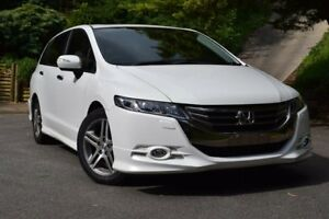 2013 Honda Odyssey 4th Gen MY13 Luxury Pearl White 5 Speed Sports Automatic Wagon St Marys Mitcham Area Preview