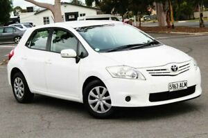 2010 Toyota Corolla ZRE152R MY10 Ascent White 4 Speed Automatic Hatchback Nailsworth Prospect Area Preview