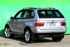 2005 BMW X5 E53 MY05 d Steptronic Silver 6 Speed Sports Automatic Wagon Ringwood East Maroondah Area Preview