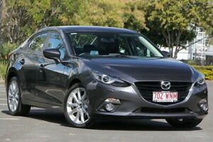 2016 Mazda 3 BM5238 SP25 SKYACTIV-Drive GT Grey 6 Speed Sports Automatic Sedan Chermside Brisbane North East Preview