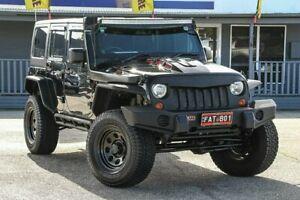 2012 Jeep Wrangler JK MY2012 Unlimited Sport Black 5 Speed Automatic Softtop Maddington Gosnells Area Preview